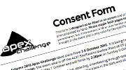Consent forms.